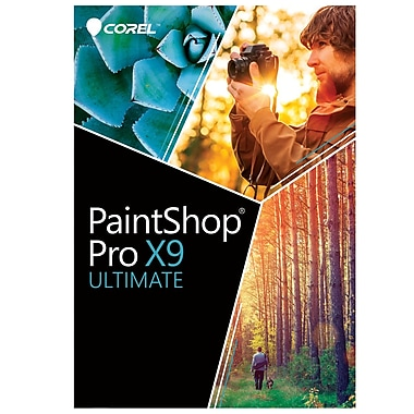 Logiciel PaintShop Pro X9 Ultimate
