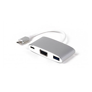 LMP USB-C to VGA & USB 3.0 & USB-C Charging Multiport Adapter (15093)