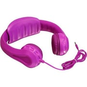 Aluratek AKH01FP Volume Limiting Wired Over-the-Head Headphone for Children, Pink