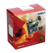 AMD A4-Series APU A4-4000 Processor, 3 GHz, Dual-Core, 1MB Cache (AD4000OKHLBOX)