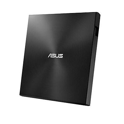 ASUS® ZenDrive U7M SDRW-08U7M-U External Ultra Slim DVD Writer, USB 2.0, Black/Silver