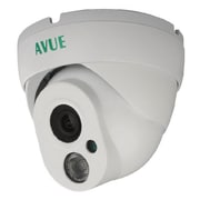 Avue® AV665PIRW Wired Dome CCTV Surveillance Camera, Night Vision, White