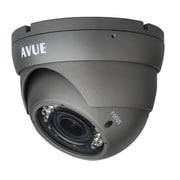 Avue® AV676PIR Wired Dome CCTV Surveillance Camera, Night Vision, Dark Gray