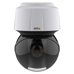 Axis Communications® Q6128-E Wired PTZ Dome Outdoor Network Camera, Night Vision, White/Black
