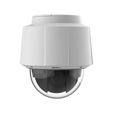 Axis Communications® Q6055 Wired PTZ Dome Indoor Network Camera, Night Vision, White/Black