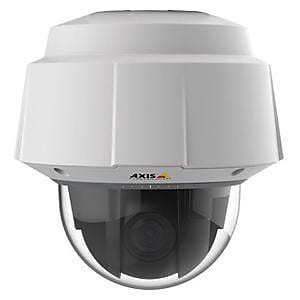 Axis Communications® Q6055-E Wired PTZ Dome Outdoor Network Camera, Night Vision, White/Black