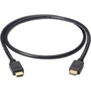Black Box® VCB-HDMI-001M 3.2' HDMI Male/Male Audio/Video Cable, Black