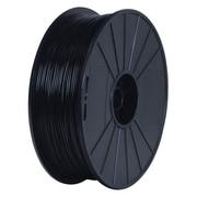 BuMat™ Elite™ 3D-BUM-DPLABK-E 1.75 mm Black PLA Filament for 3D Printer