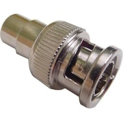 Calrad® 75-694-10 BNC to RCA Male/Female Video Adapter, Gray