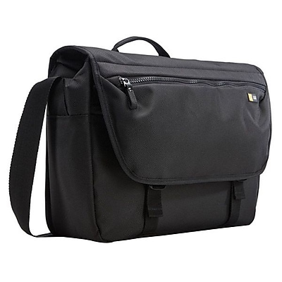 Case Logic® Bryker Black Polyester Carrying Case (Messenger) for 15