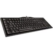 CHERRY® USB Wired Keyboard, Black (G80-3850LSBEU-2)