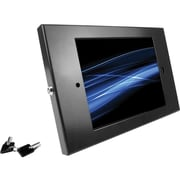 "Maclocks® 202ENB Aluminum Lockable Enclosure for 9.7"" Apple iPad 2/3/4/Air, Black"