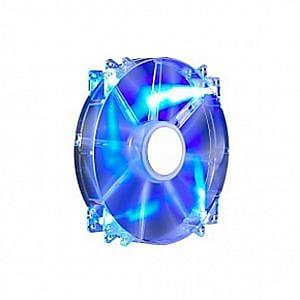 Cooler Master MegaFlow 200 LED Silent Cooling Fan, 700 RPM, Blue (R4-LUS-07AB-GP)