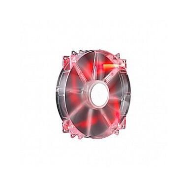 Cooler Master MegaFlow 200 LED Silent Cooling Fan, 700 RPM, Red (R4-LUS-07AR-GP)