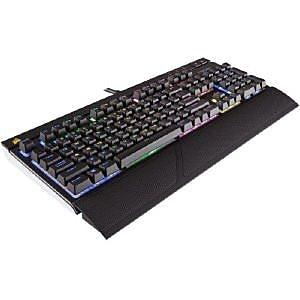 Corsair® USB Wired RGB Mechanical Gaming Keyboard, Black (CH-9000227-NA)