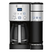 Cuisinart® Coffee Center™ 12 Cup Coffeemaker with Single-Serve Brewer, Black/Silver (SS-15)