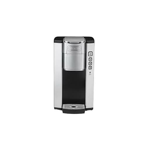 Cuisinart® SS-5 1.25 qt Single Serve Coffee Brewer, Black/Gray