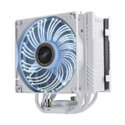 Enermax LED High Performance CPU Air Cooler, 1800 RPM, White (ETS-T50A-WVS)
