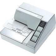Epson® TM-U295 2.1 ips Monochrome Dot Matrix Receipt Printer, Serial, White
