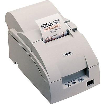 Epson® TM-U220D 6 ips Monochrome Dot Matrix Receipt Printer, USB, White