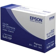 Epson® SJIC15P Tri-Color Ink Cartridge for TM-C3400 SecurColor Printer