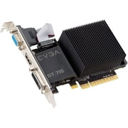 EVGA® NVIDIA GeForce GT 720 DDR3 PCI Express 2.0 x16 1GB Graphic Card