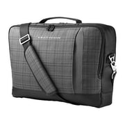"HP® Black/Gray Twill/Polyester Top Load Carrying Case for 15.6"" Ultrabook (F3W15AA)"
