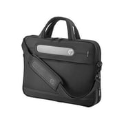 "HP® Business Black Suede/Foam Slim Top Load Carrying Case for 14.1"" Notebook/Accessories (H5M91AA)"