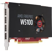 HP® AMD FirePro W5100 GDDR5 PCI Express 3.0 x16 4GB Graphic Card