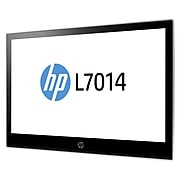 """HP® L7014 14"""" LED LCD Retail Monitor, Asteroid/Black (T6N31A8#ABA)"""