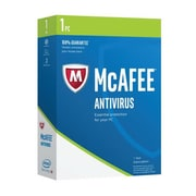 Intel® McAfee 2017 Antivirus Software, 1 PC, Microsoft Windows (MAB17EMB1RAA)