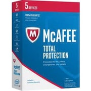 Intel® McAfee 2017 Total Pritection Software, 5 Devices (MTP17EMB5RAA)