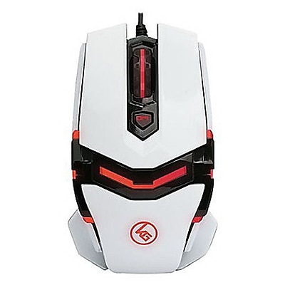 Iogear® Kaliber FOKUS Pro Laser Wired Gaming Mouse, Multicolor (GME670)