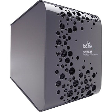 ioSafe Solo G3 4TB USB 3.0 External Hard Drive, Black (SK4TB)