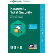 Kaspersky Total Security Software, 1 Year, 5 Devices (KL1919ABEFS-1721UZZ)