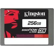 Kingston® KC400 256GB SATA 6 Gbps Internal Solid-State Drive, Black