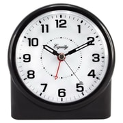 "La Crosse® 4.23"" x 4.72"" x 2.76"" Black Quartz Nightvision Alarm Clock (14080)"