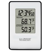 La Crosse® Wireless Thermometer, 0 - 50 deg C (308-1910)