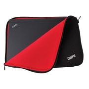 """Lenovo® Black/Red Neoprene Fitted Reversible Sleeve for 12"""" ThinkPad Notebook (4X40E48909)"""