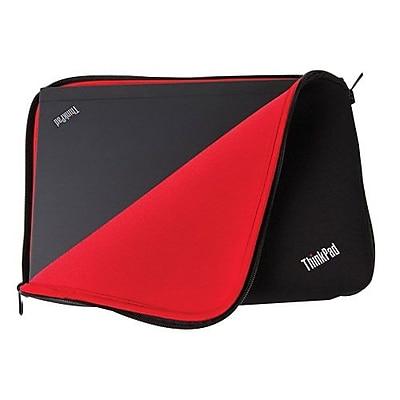 Lenovo® Black/Red Neoprene Fitted Reversible Sleeve for 12