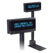LOGIC CONTROLS Customer Pole Display, Dark Gray (LD9900TUP-GY)