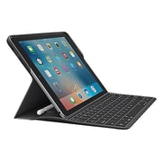 "Logitech® CREATE 920-008131 Polycarbonate Folio Keyboard/Cover Case for 9.7"" iPad Pro, Black"