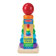 Melissa & Doug Rainbow Stacker Classic Toy, 18+ Months (576)