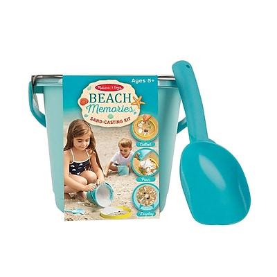 Melissa & Doug Beach Memories Sand-Casting Kit, 5+ Years (8948)