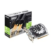 msi® NVIDIA GeForce GT 730 DDR3 PCI Express 2.0 x16 2GB Graphic Card