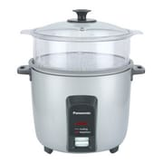 Panasonic® 12 Cup Automatic Rice Cooker and Vegetable Steamer, Silver/Black (SR-Y22FGJL)