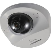 Panasonic® WV-SFN130 Super Dynamic Wired Dome Network Camera, Night Vision, Sail White