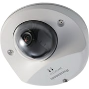 Panasonic® WV-SFV110 Super Dynamic Wired Dome Network Camera, Night Vision, White