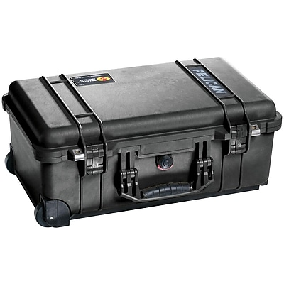 Pelican 1510 Carry-On Shipping Case, Black (1510-001-110)