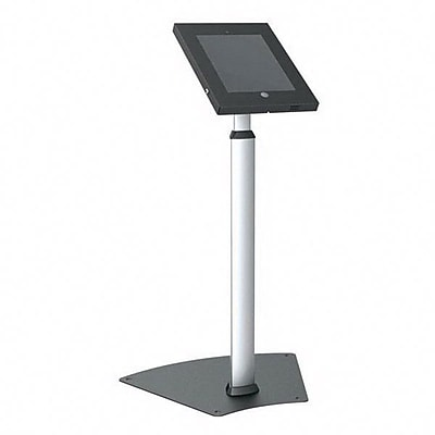 Pyle® Tamper Proof iPad Floor Mount, PSPADLK55, Heavy Duty, Black/Silver
